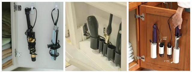 Organizar o banheiro | Secador de cabelo