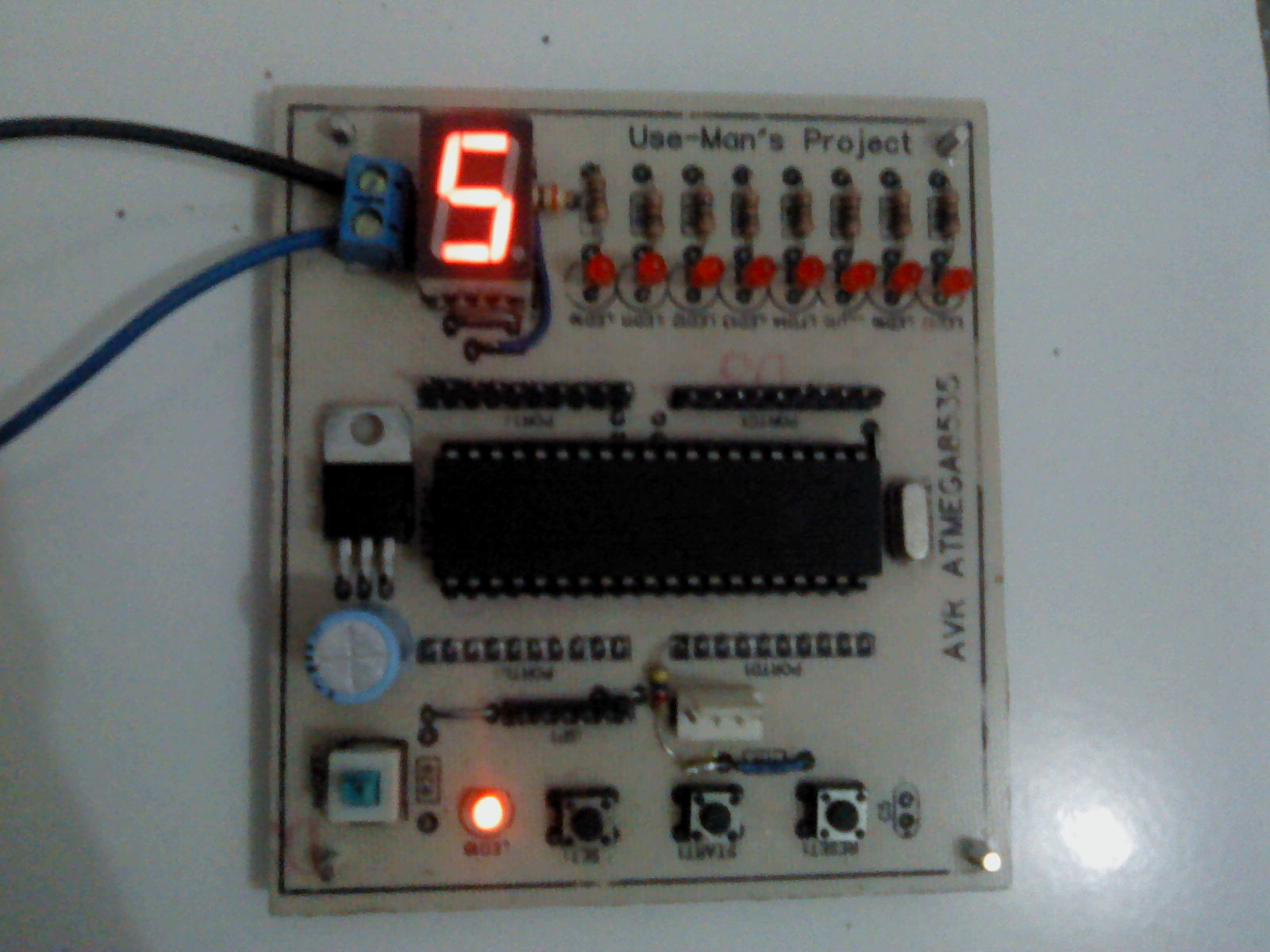 using avr counters The function is not that abundant compared to generic universal counter however it can measure  (45 msec in avr)  most universal counters have a dc coupling.