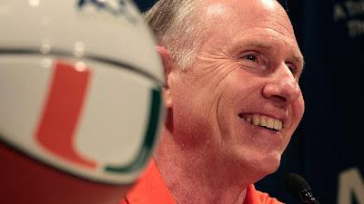UM Basketball - Canes Basketball Coach Jim Larranaga