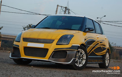 GAMBAR MODIFIKASI SUZUKI SWIFT 2007