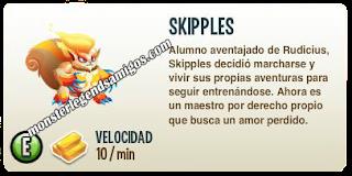 imagen de la descripcion del monstruo skipples