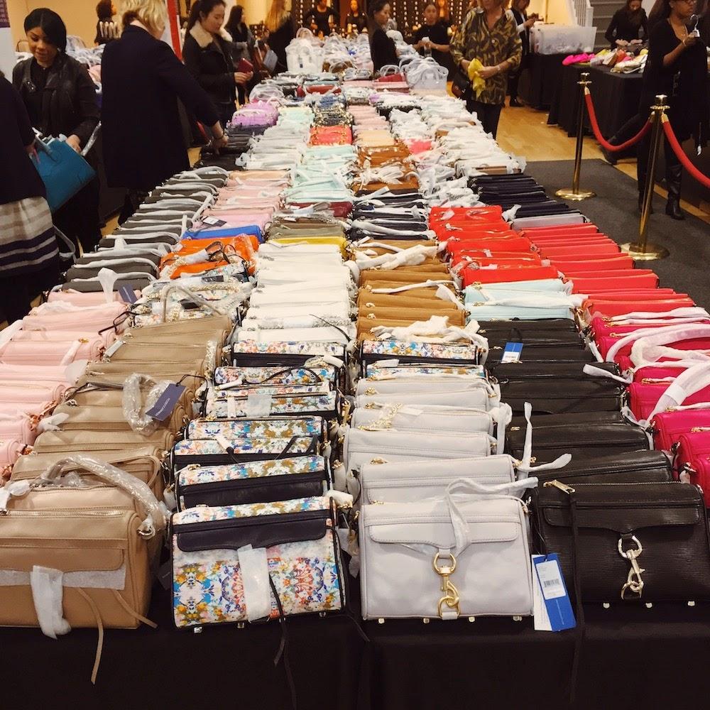 New York à la Keiko: nykeiko shops: Rebecca Minkoff sample sale ...