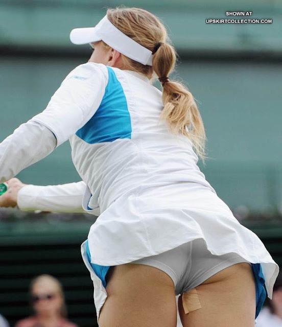 Tennis atar upskirts photo sites