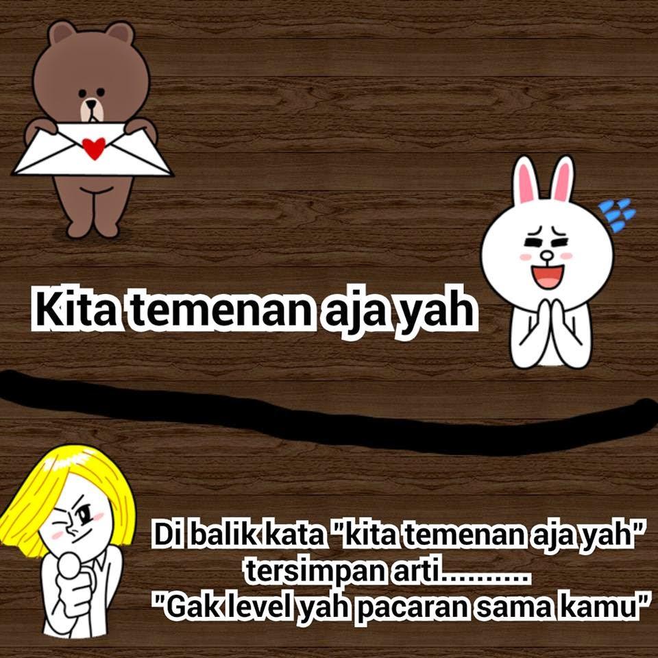 Dp BBM Komik Line Brown Cony Bahagia Galau Lucu Info Unik Lucu