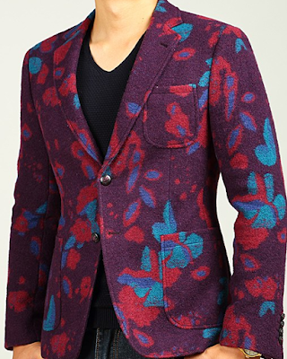 Creative Colorful Mens Fashion Wool Blazer via PerfectMensBlazers
