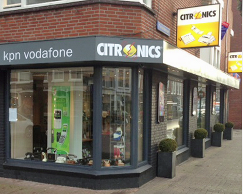 Winkel/showroom in de Frederikstraat