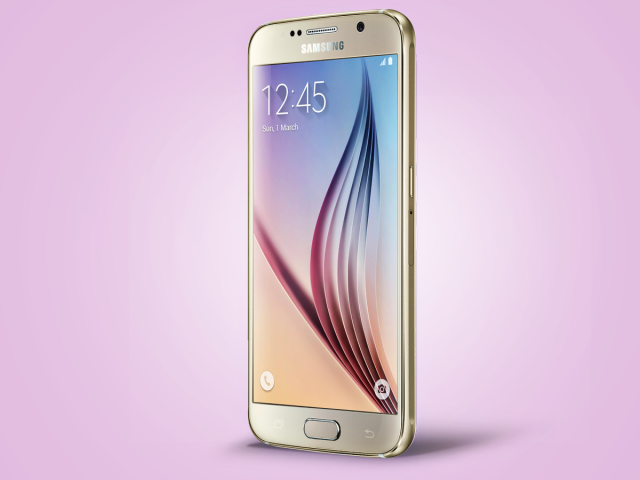 samsung galaxy s6 latest smartphone screen front