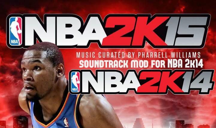 NBA 2k15 Soundtrack Mod for NBA 2k14