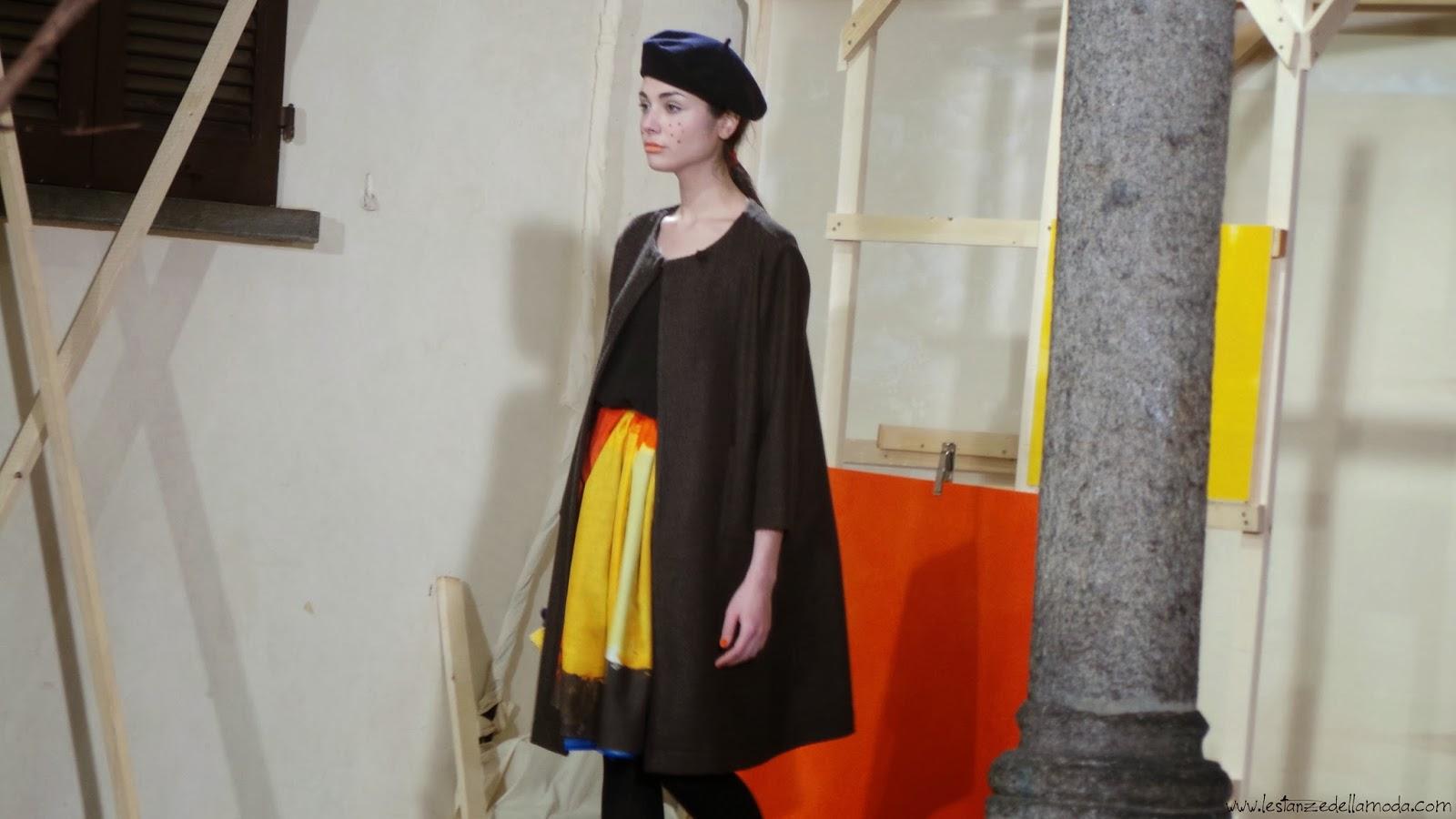 daniela gregis, milano fashion  week, collezione fall winter 2014 2015