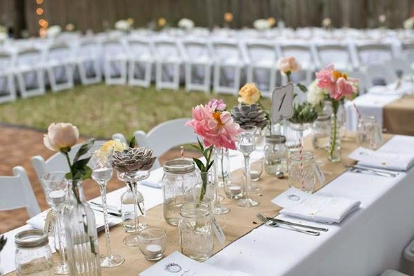 5 tipos de caminos de mesa para la decoraci n de tu boda - Caminos de mesa originales ...