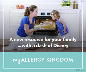 Disney's new food allergy site, My Allergy Kingdom