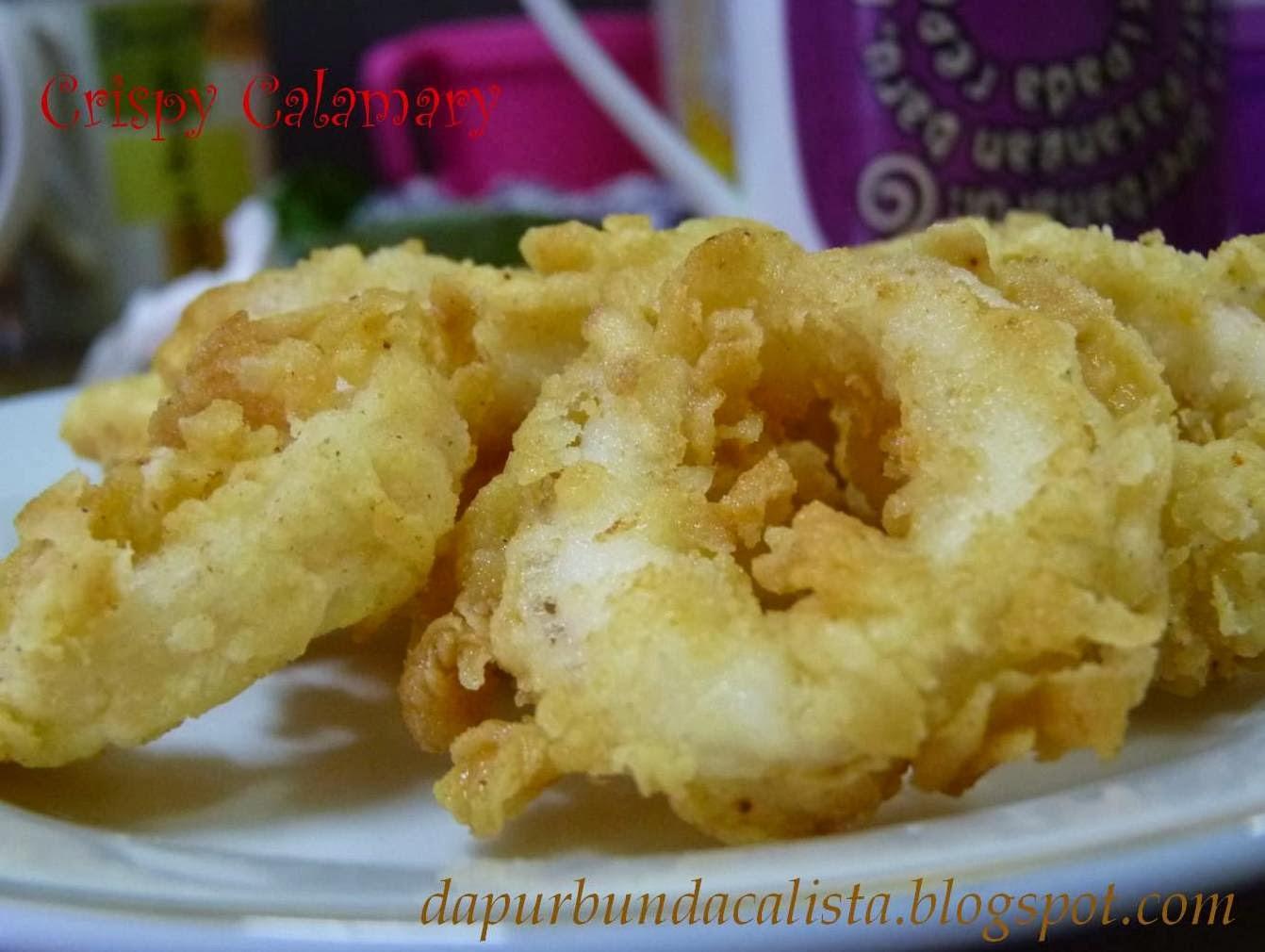 dapur bunda calista crispy calamari