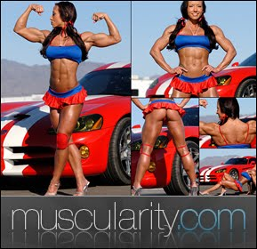 Muscularity Hot Female Muscle