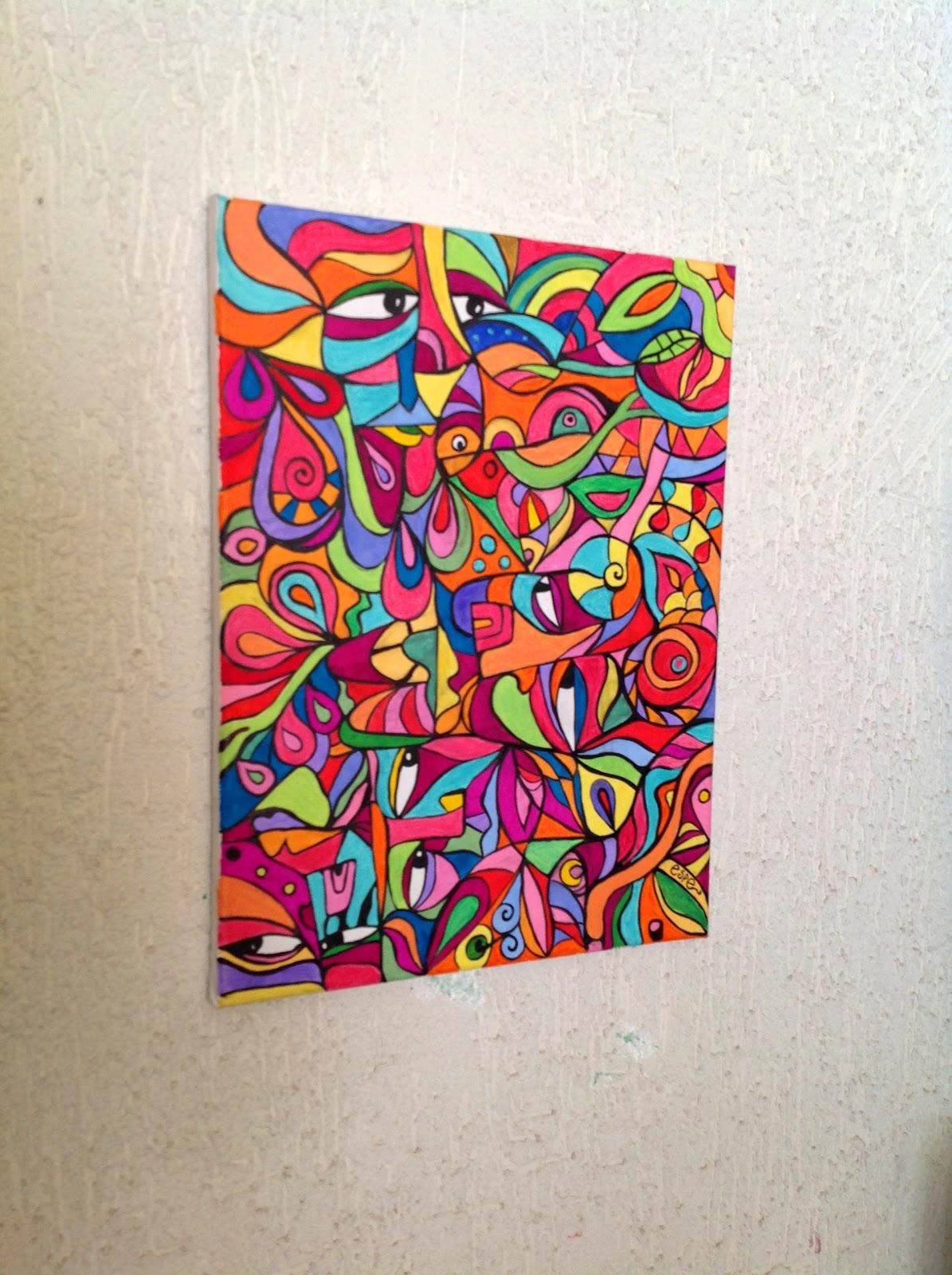 Arte dibujo pintura tejidos manualidades - Pintura acrilica manualidades ...