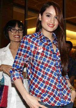 Cinta Laura Dukung Jokowi