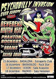 Reverend Horton Heat en Barcelona, Madrid, Bilbao y Gijón en diciembre