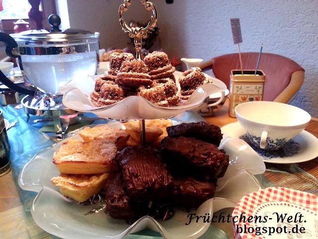 Teaparty Minigugl und Minikuchen