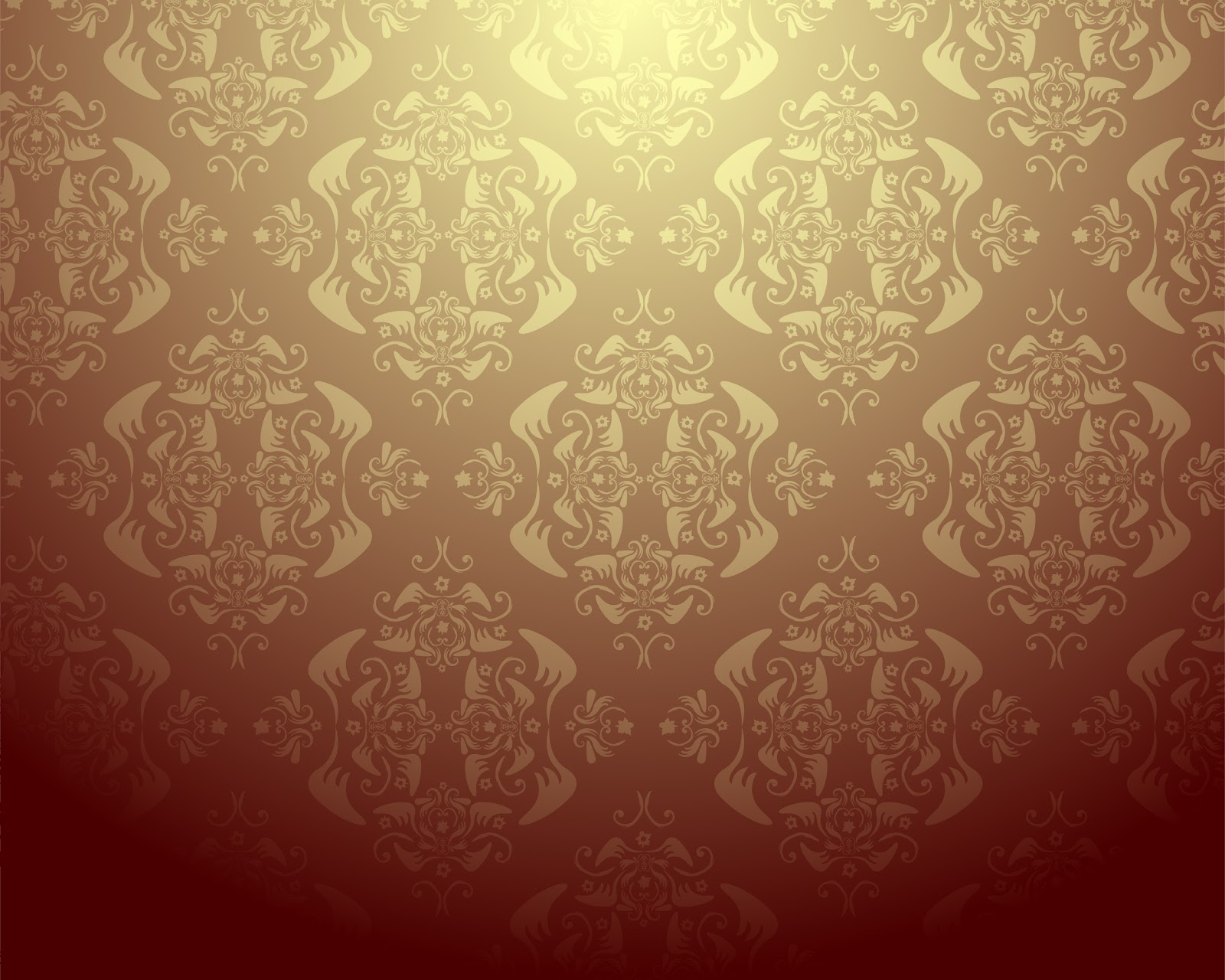 Seamless retro vector damask background by greatvectors