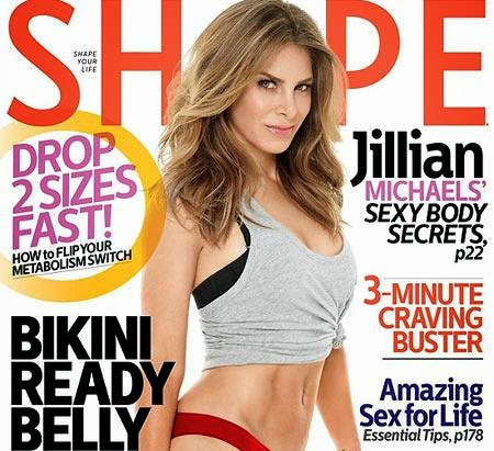 Jillian Michaels, Shape magazine, Biggest Loser,