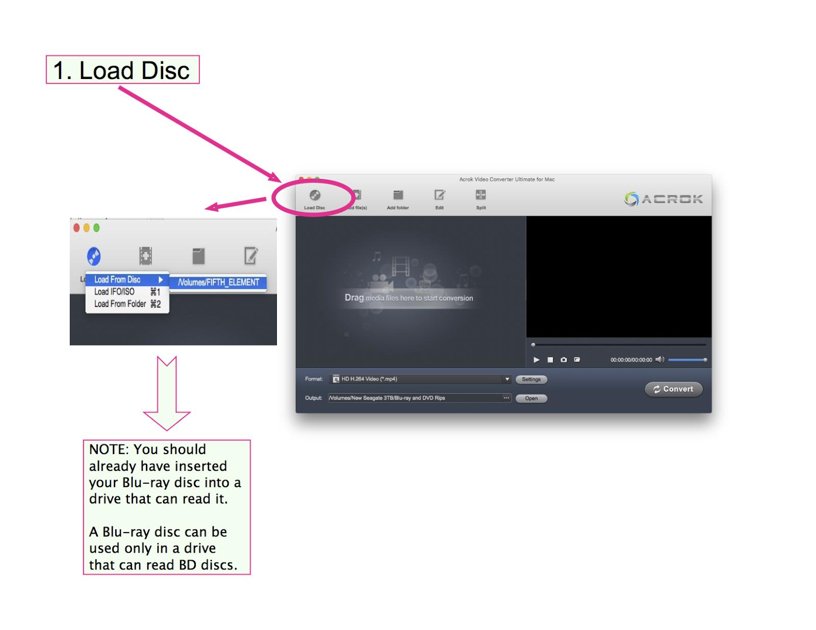 acrok video converter ultimate for mac
