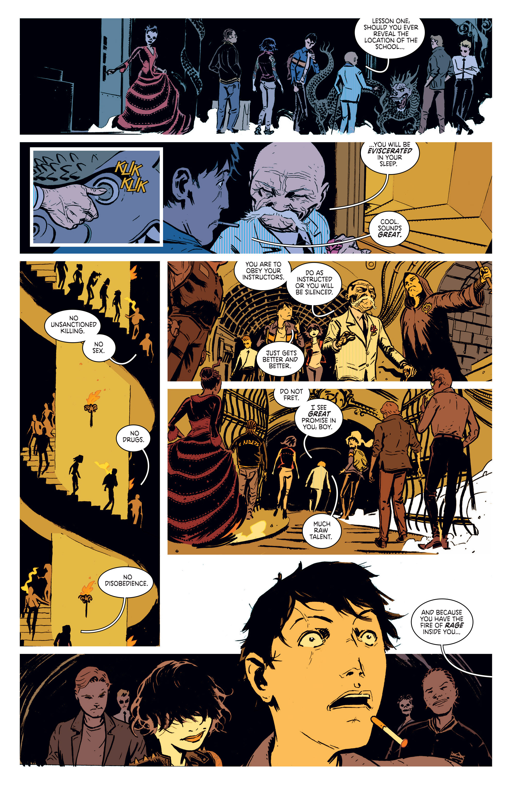 Read online Deadly Class comic -  Issue #1 - 28