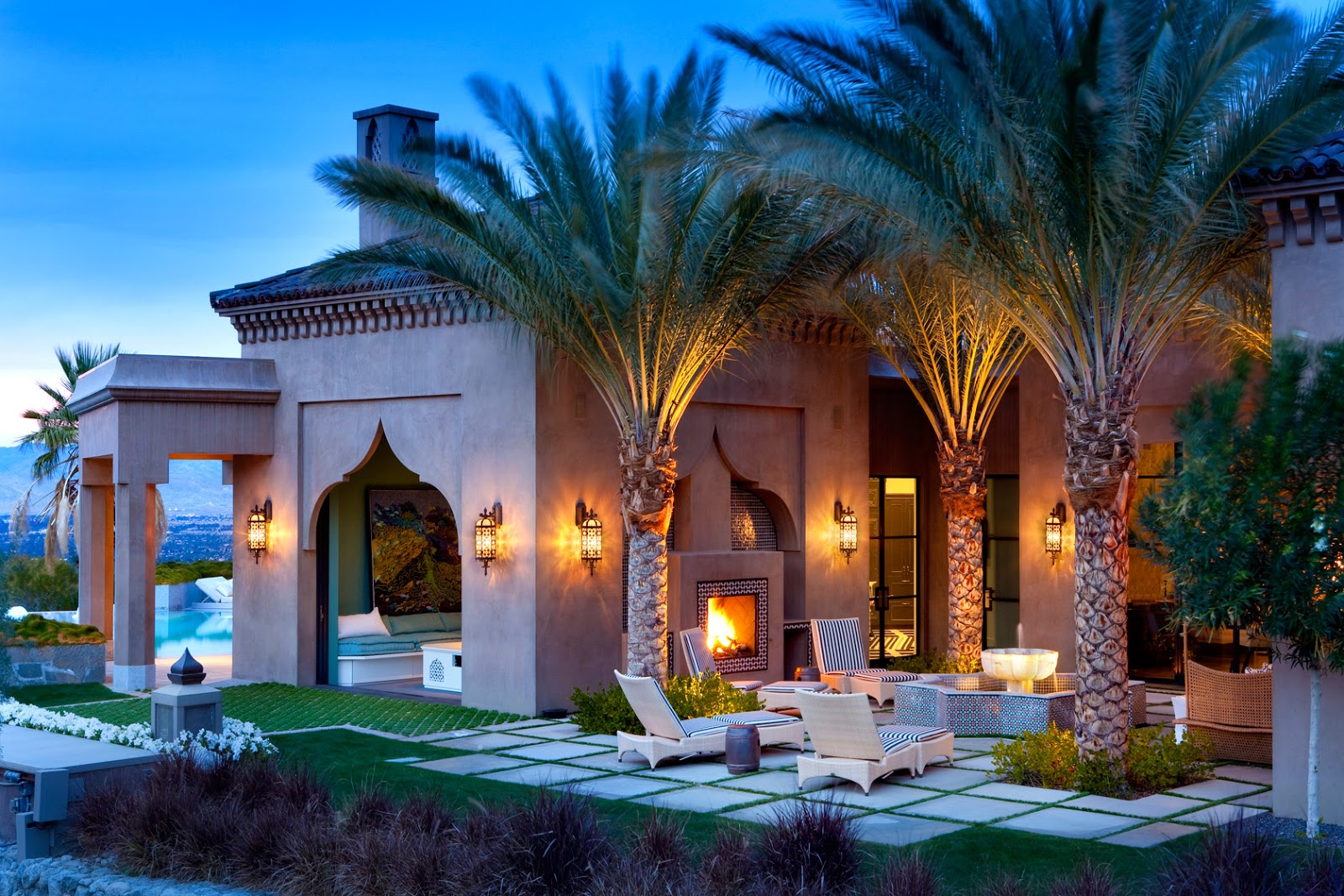 Casbah cove a moroccan inspired premier palm desert for Architecture marocaine