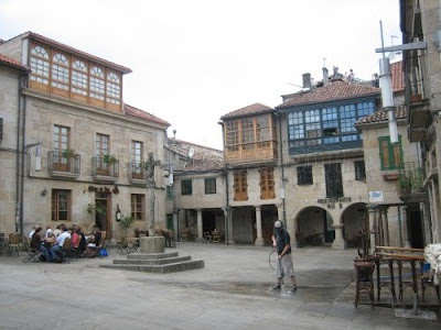 Pontevedra ciudad España