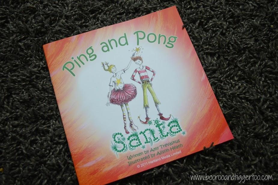 Boo Roo and Tigger Too: BOOK Ping and Pong Santa