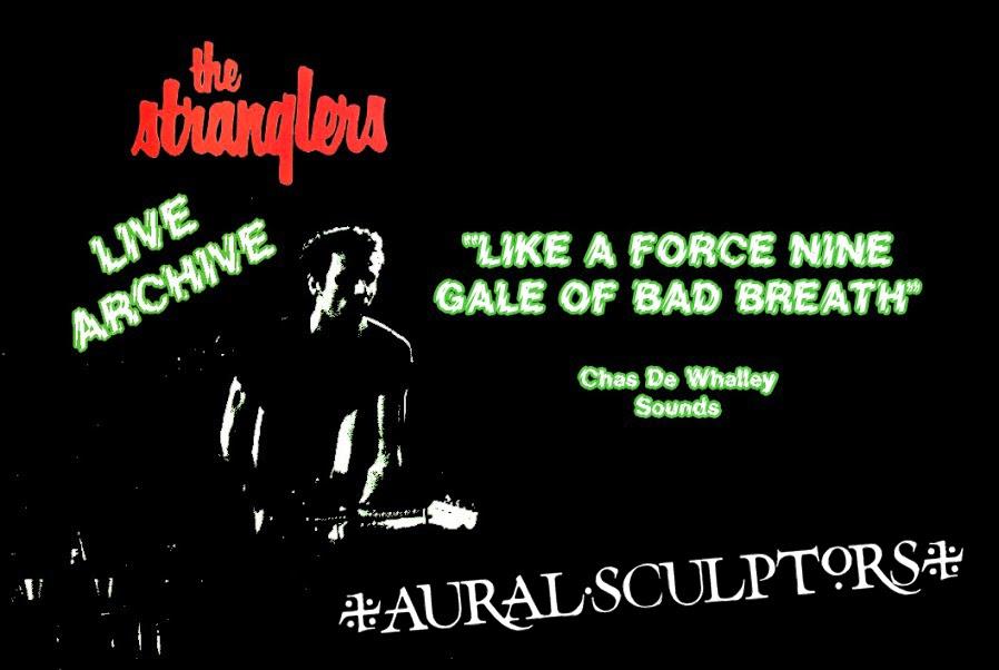 Aural Sculptors - The Stranglers Live