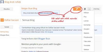 buat blog blogspot cepat