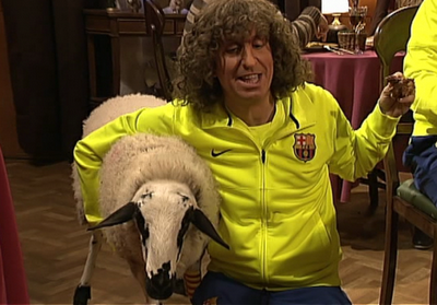 Note, that is Crackovia!Puyol.