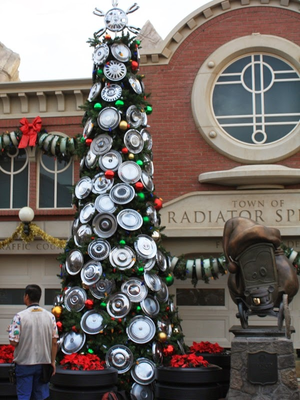 Christmas Trees Of Cars Land This Fairy Tale Life