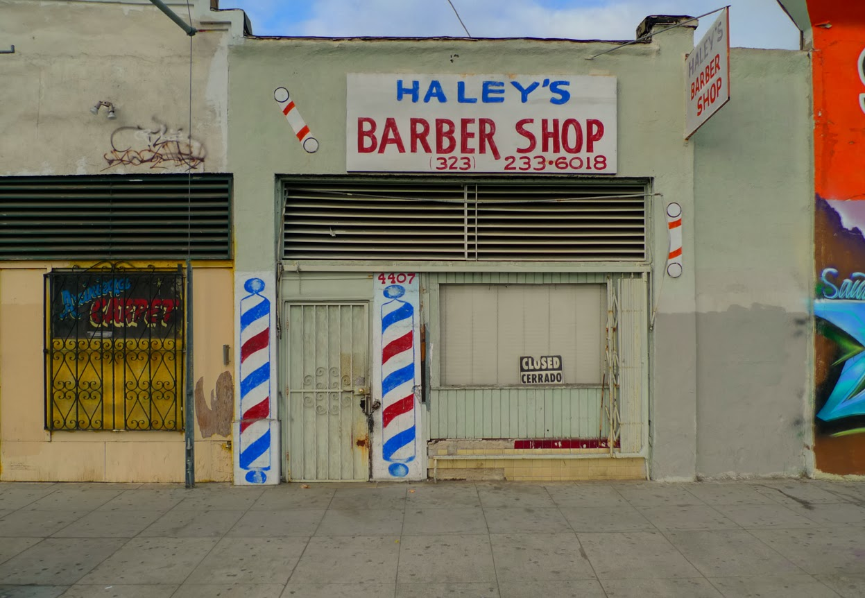 Barber Shop Open On Monday : East Of West L.A.: Barber Shop (South Central)