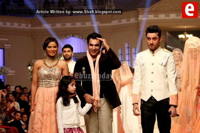 Pictures of Telenor Bridal Week Fashion Show Day-1