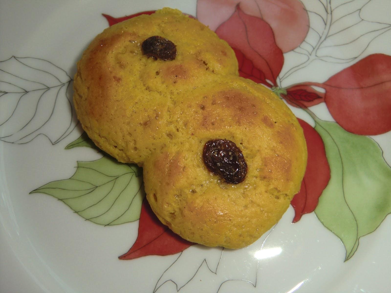 gluten och laktosfria lussebullar