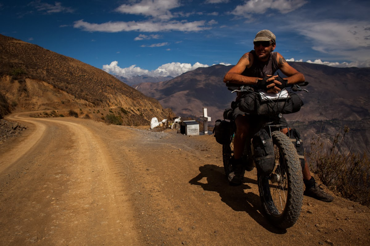 ONE FAT BIKE AND A MASSIVE LOVE FOR TRAVELING...