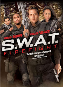 Poster Of SWAT Firefight (2011) In Hindi English Dual Audio 300MB Compressed Small Size Pc Movie Free Download Only At worldfree4u.com