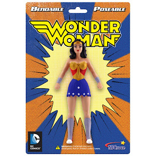 NJ Croche DC Comic Bendy Wonder Woman Figure