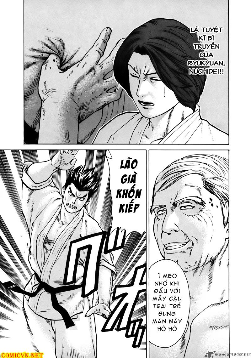 Karate Shoukoushi Kohinata Minoru chap 46 Trang 13