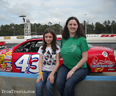 Hanging At The Racetrack With My Kid