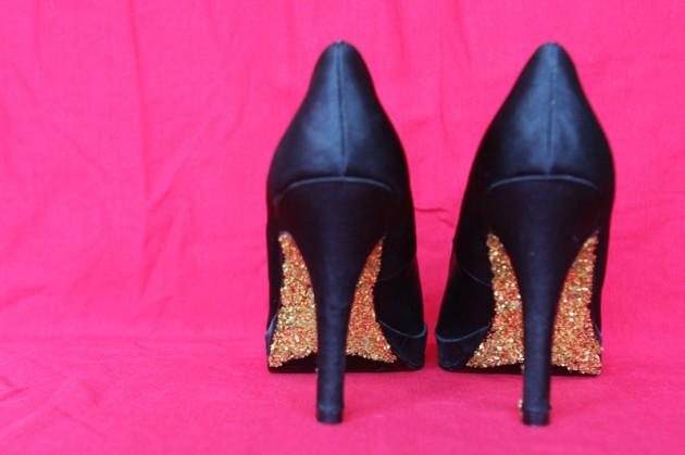Fabulosos tacones bricolajes | Moda y Belleza en zapatos