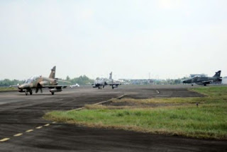 Pangkalan Udara TNI AU Palembang sangat strategis