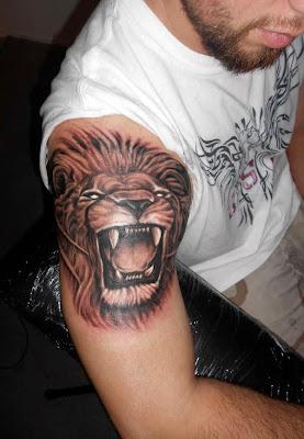 Roarr Lion Tatoos Design