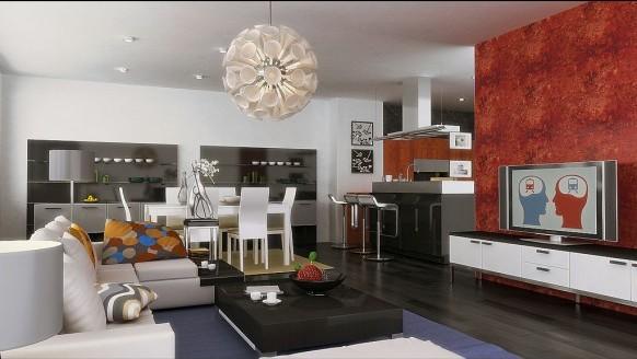 Ideas de salas comedor modernas ideas para decorar for Sala comedor pequenas modernas