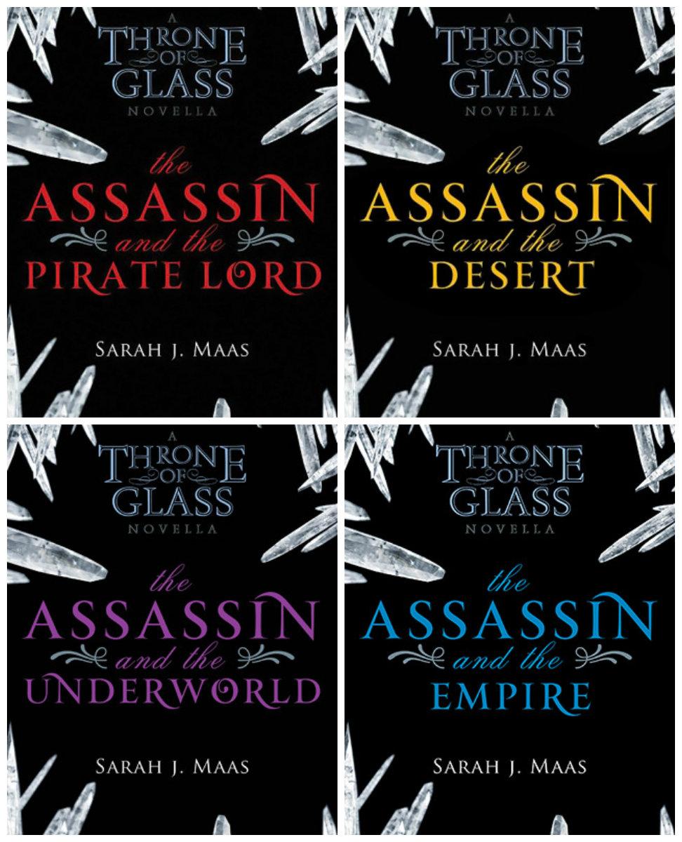 books throne of glass novellas j maas