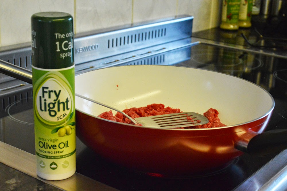 Lean mince with Frylight
