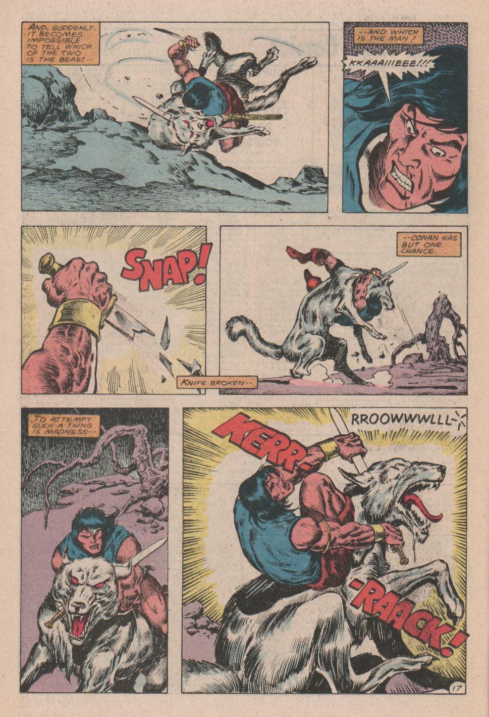 Conan the Barbarian (1970) Issue #178 #190 - English 18