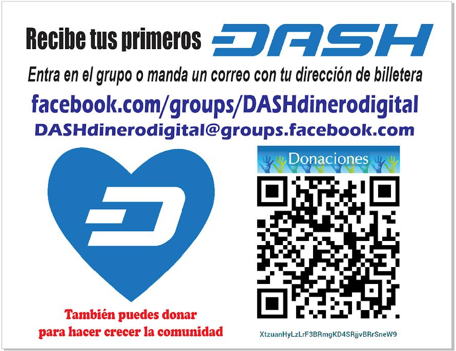Conoce #DASH el nuevo dinero digital mejor que Bitcoin
