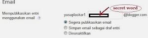 upload gambar ke blogspot via email