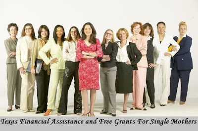 Texas Financial Assistance and Free Grants For Single Mothers